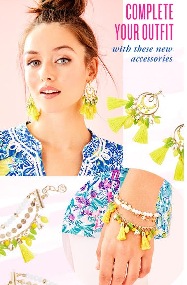 Our Newest Lemon Accessories from Lilly Pulitzer