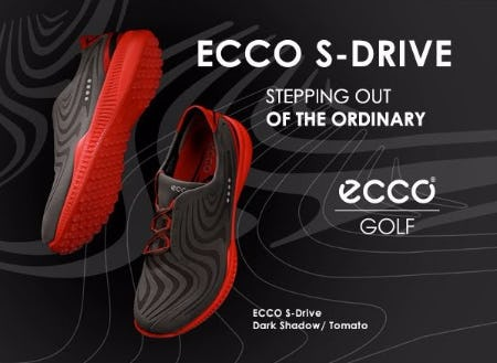 ECCO S-Drive Golf Shoes: Stepping Out of the Ordinary