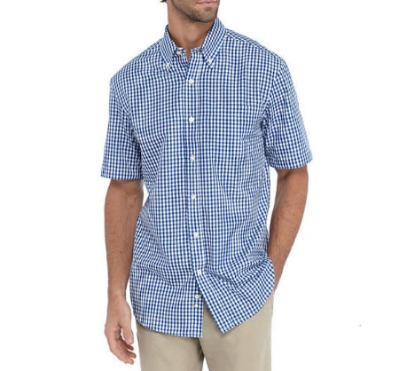 Saddlebred Easy Care Classic Fit Shirt from Belk