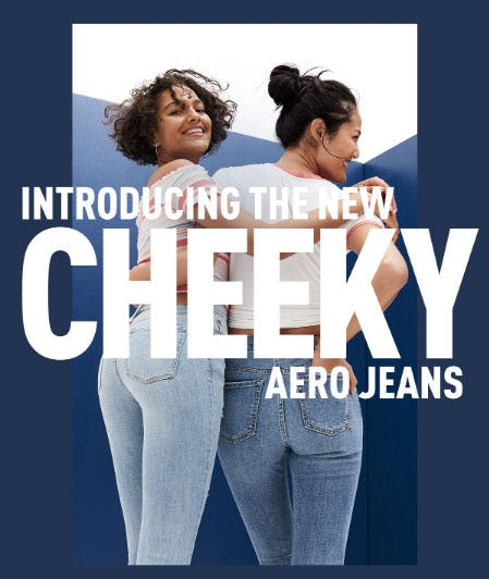 Introducing The New Cheeky Aero Jeans from Aéropostale