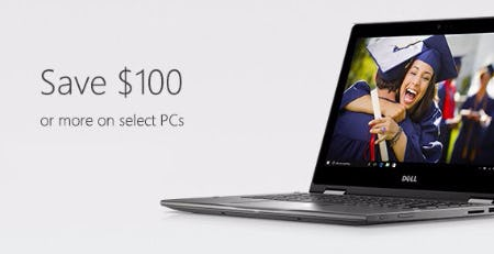 Save $100 or More on Select PCs