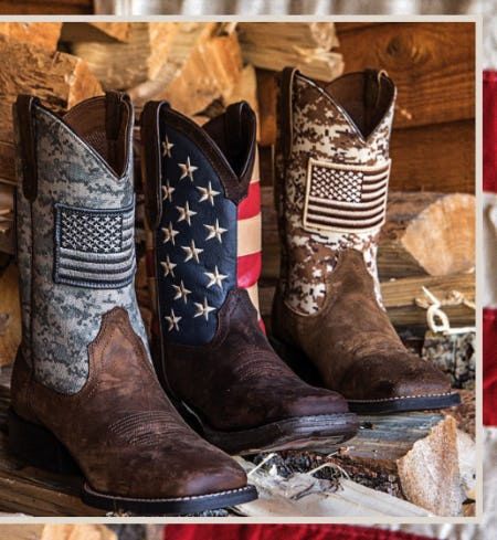 All-American Boots from Boot Barn Western And Work Wear