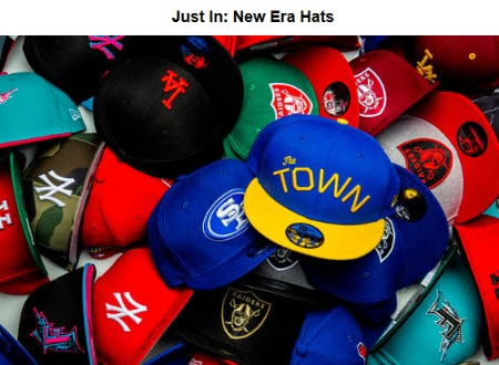 Discover Our Latest New Era Hats from Shoe Palace