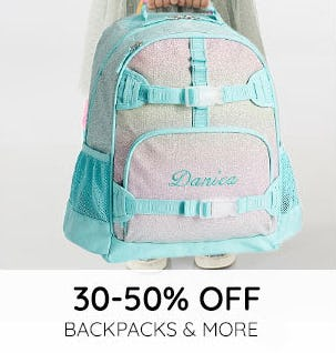 30-50% Off Backpacks & More from Pottery Barn Kids