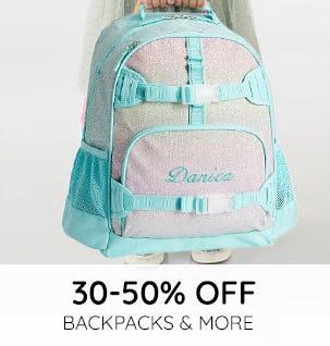 30-50% Off Backpacks & More