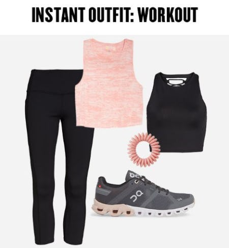 Instant Outfit: Summer Workout from Nordstrom