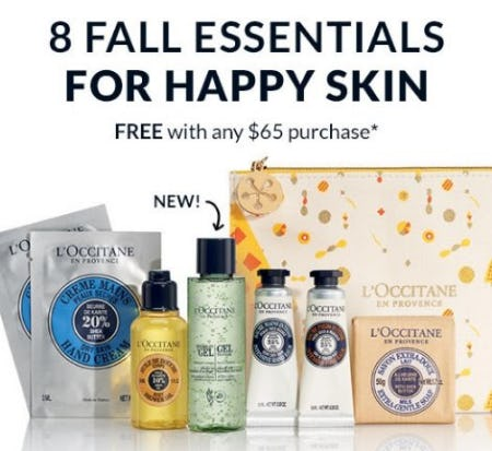 8 Fall Essentials for Happy Skin Free with any $65 Purchase