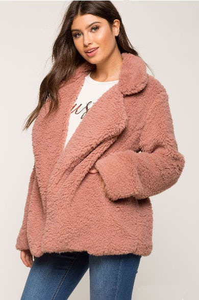 Barbie Sherpa Coat