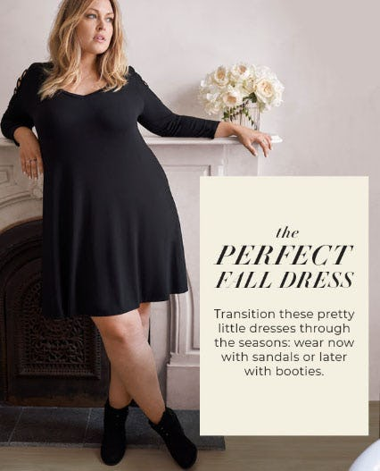 Dresses Fit for Fall from Torrid