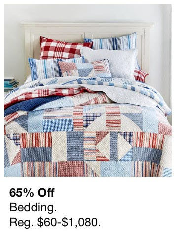 65% Off Bedding from macy's