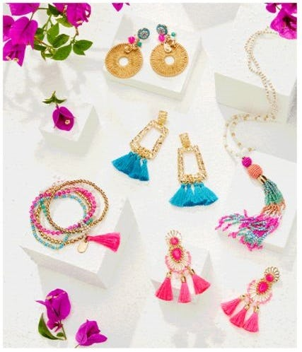Our Latest Custom Color Jewelry from Lilly Pulitzer