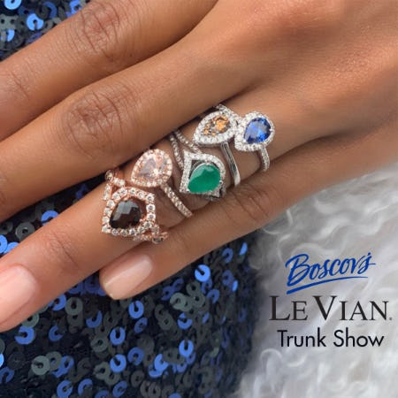 Le Vian Trunk Show from Boscov's Optical