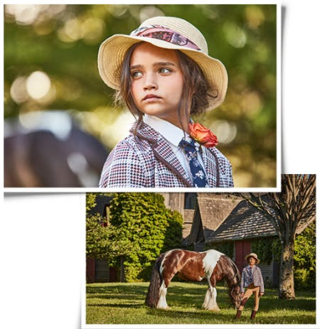 Our New Equestrian Collection from Janie and Jack