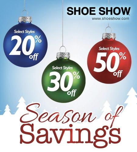 Season of Savings! from Shoe Show