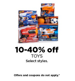 10-40% Off Toys from Kohl's