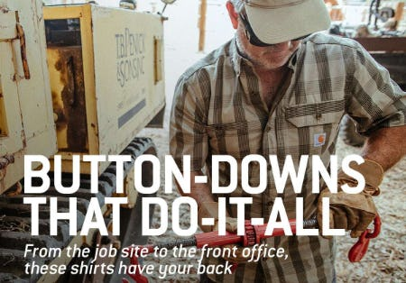 Button-Downs That Do-It-All from Carhartt