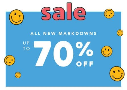 All New Markdowns up to 70% Off from Gymboree