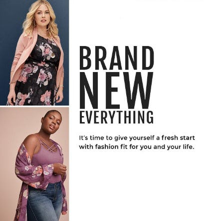 Brand New Everything from Torrid