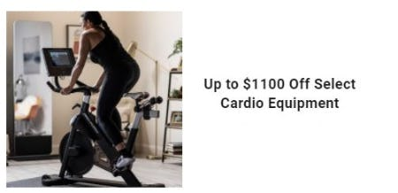 Up to $1100 Off Select Cardio Equipment from Dick's Sporting Goods