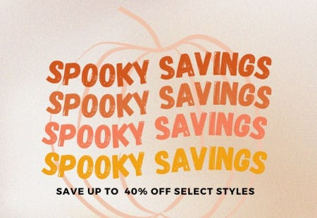 Up to 40% Off Spooky Savings from Hibbett Sports
