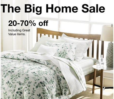 The Big Home Sale: 20-70% Off from macy's