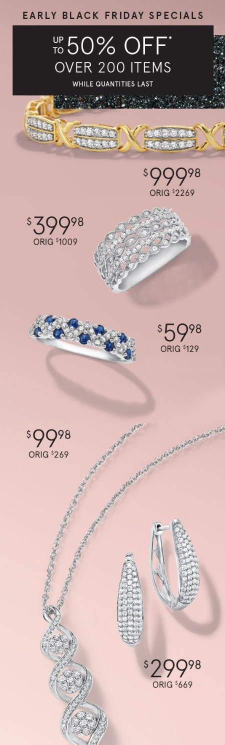 Early Black Friday Specials from Zales Jewelers