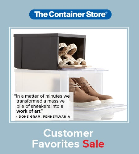 Customer Favorites Sale at The Container Store from The Container Store
