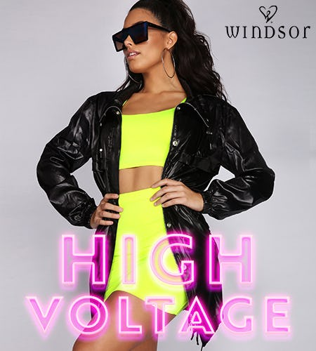 TREND ALERT: NEON! from Windsor