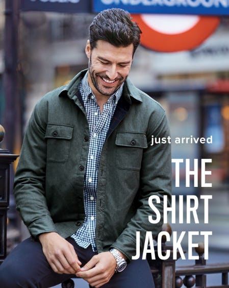 Just Arrived: The Shirt Jacket from Untuckit