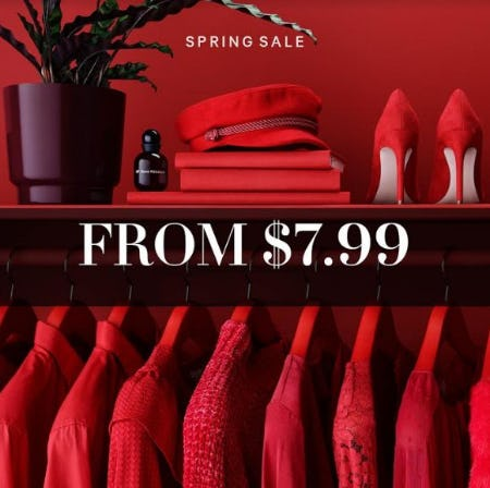 Spring Sale from H&M