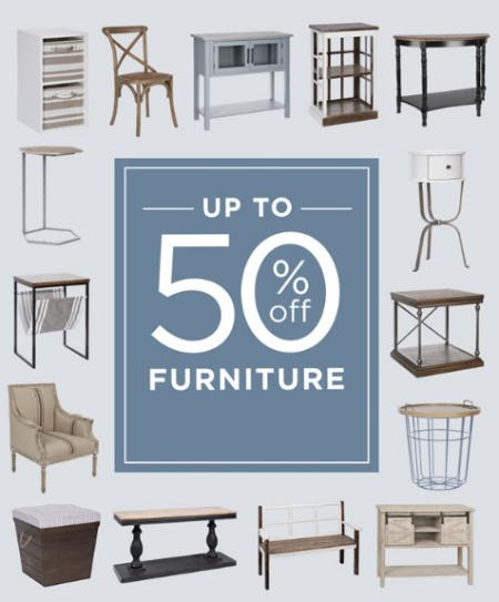 Up to 50% Off Furniture from Kirkland's