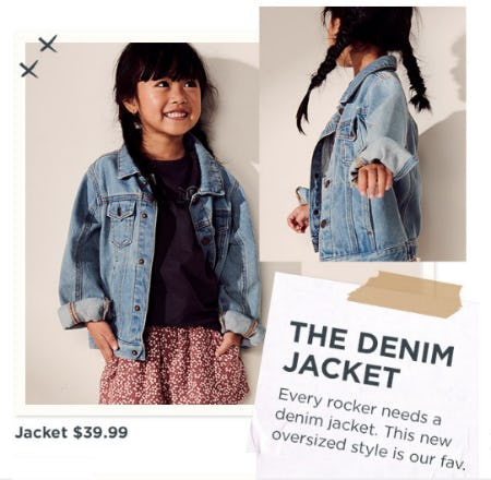 Jacket $39.99 from Cotton On Kids