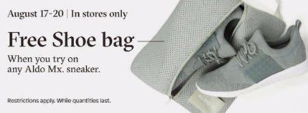 Free Shoe Bag