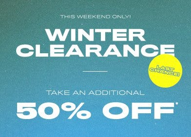 Winter Clearance from PacSun