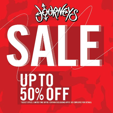 CLEARANCE SALE from Journeys
