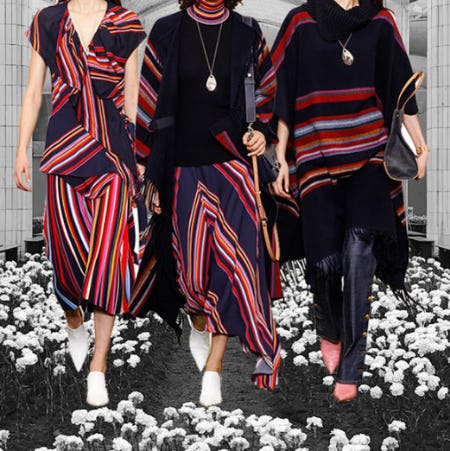 Vivid Stripes from Tory Burch