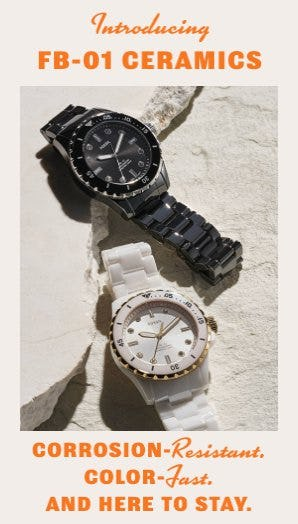 Introducing FB-01 Ceramics from Fossil