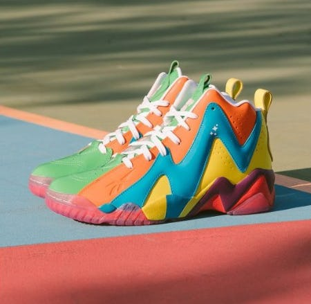 Reebok Kamikaze II 'Candy Land' from DTLR