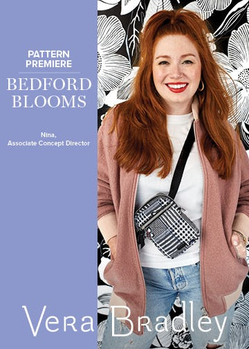 Introducing Bedford Blooms from Vera Bradley