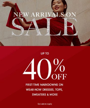 Up to 40% Off New Arrivals from Neiman Marcus