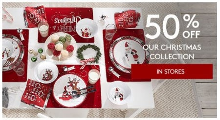 50% Off Our Christmas Collection from Pottery Barn Kids