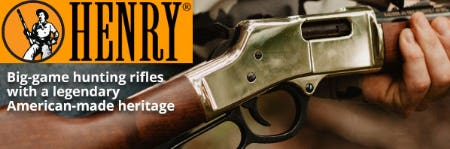 Henry Big-Game Hunting Rifles from Cabela's