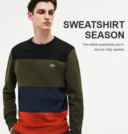 Sweatshirt Season from Lacoste