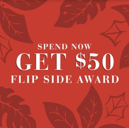 Earn $50 Awards This Holiday Season