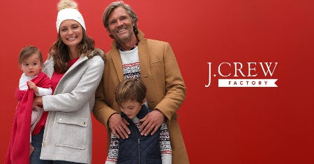 50% - 60% OFF STOREWIDE! from J.Crew Mercantile