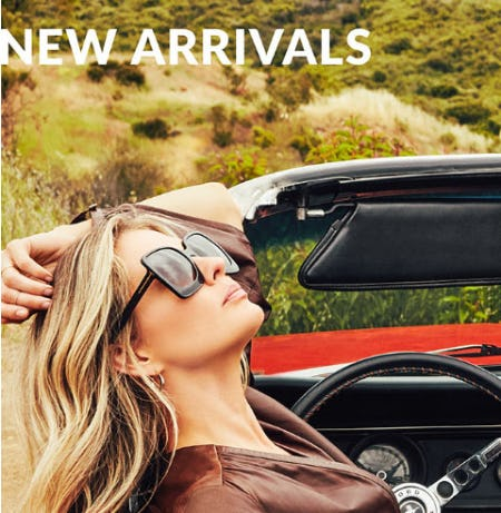 Shop New Arrivals from Solstice Sunglass Boutique