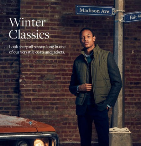 Winter Classics from Brooks Brothers