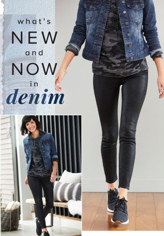 What's New and Now in Denim from Evereve