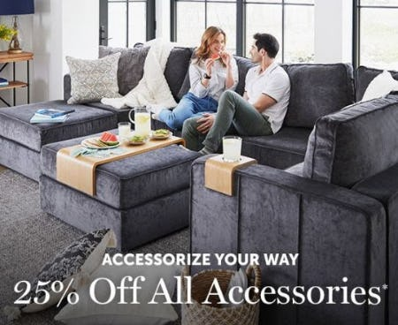 25% Off All Accessories