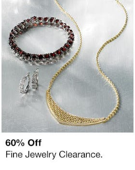 60% Off Fine Jewelry Clearance